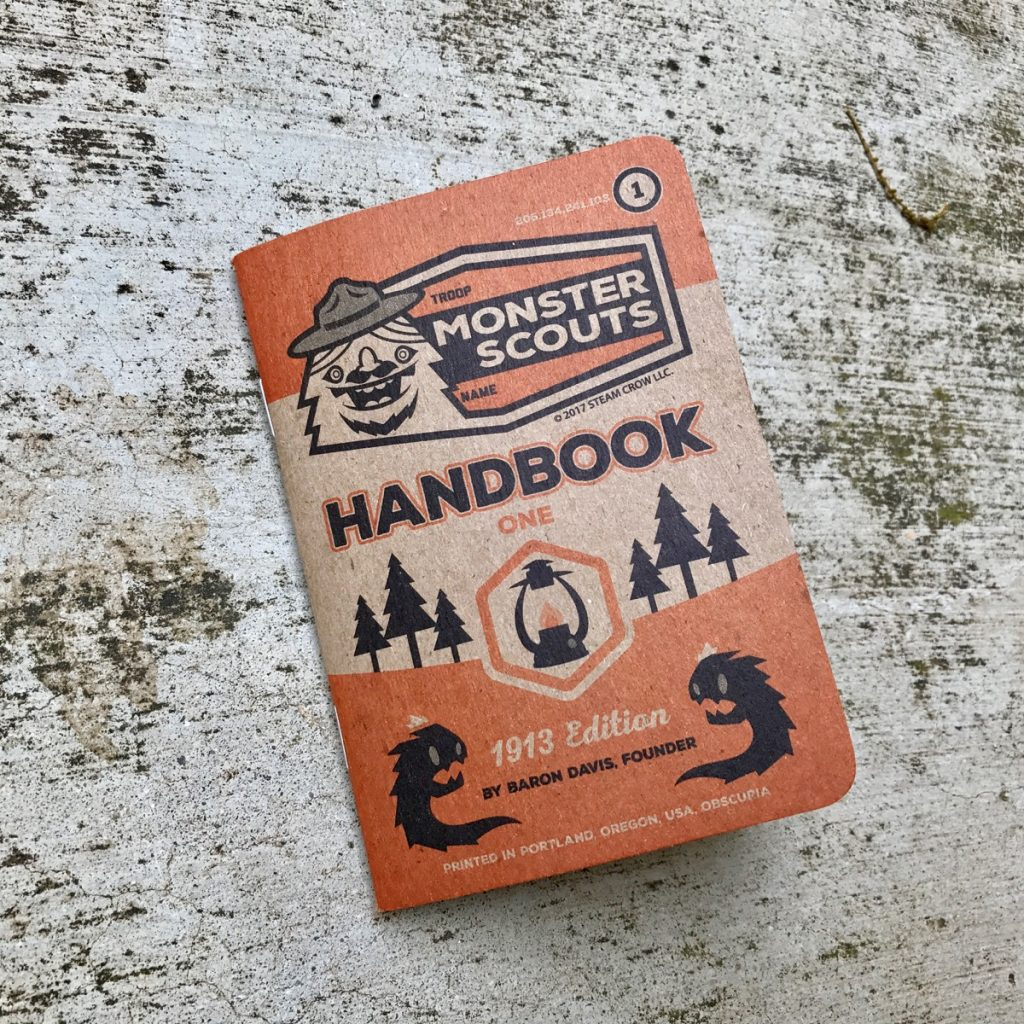 Monster Scouts Handbook 1