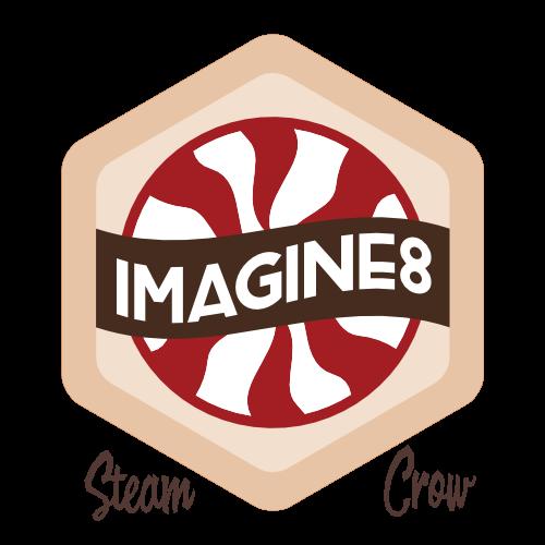 Imagine8 Badge