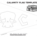 Calamity Flag Graphic