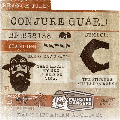 Conjure Guard Card