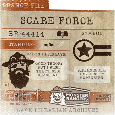 Scare Force Card