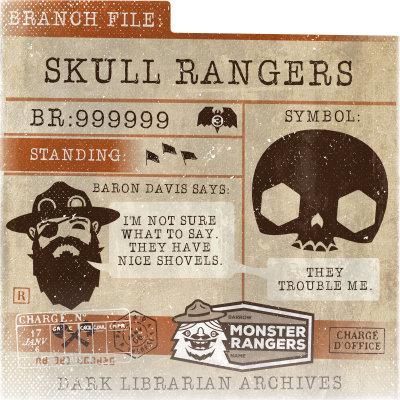 Skull Rangers Card