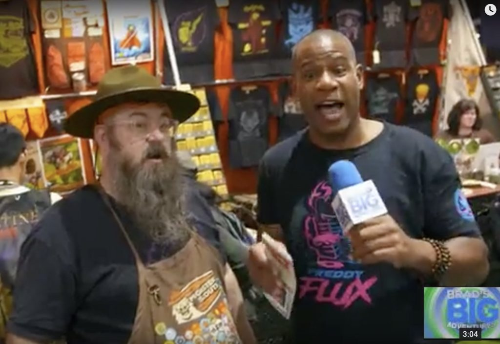 Brad's Big Adventures interviews the Monster Rangers