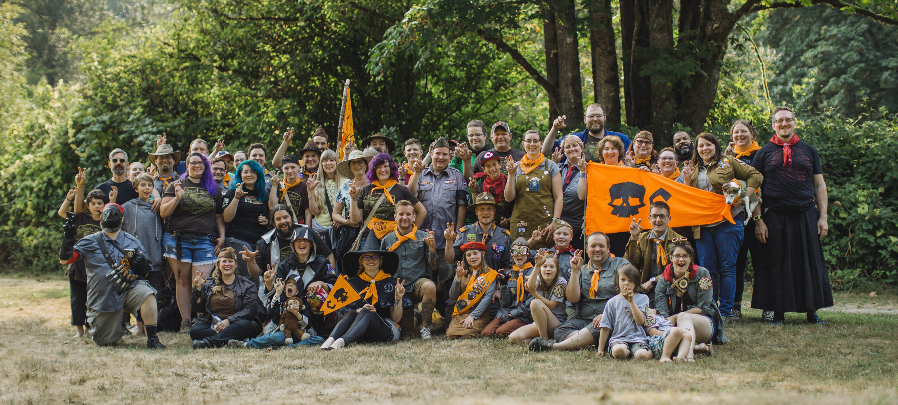 Monster Rangers Group Photo Seattle