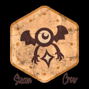 Eye Bat Badge