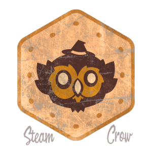 Seattle Owlbear Badge Leather