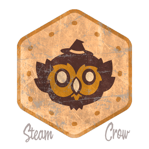 Seattle Owlbear Badge Leather