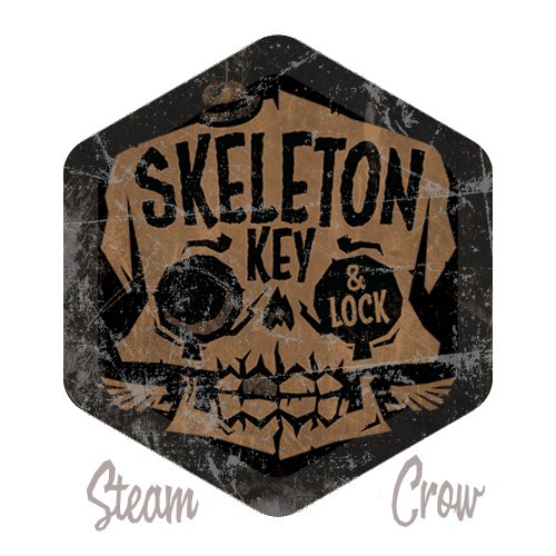 Skeleton Key & Lock