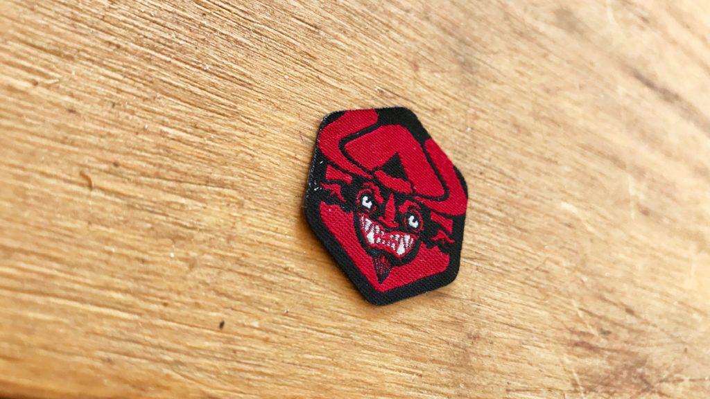 Krampus Badge