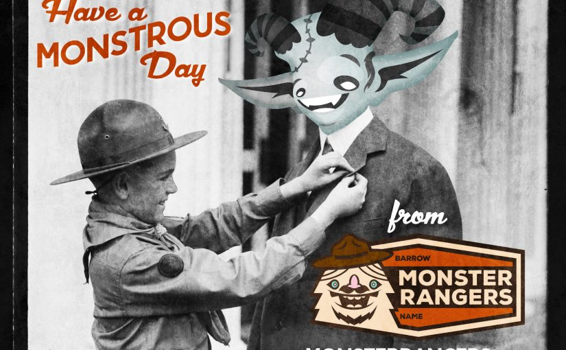 Monstrous Day Graphic