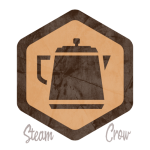 Coffee Pot Spirit Badge
