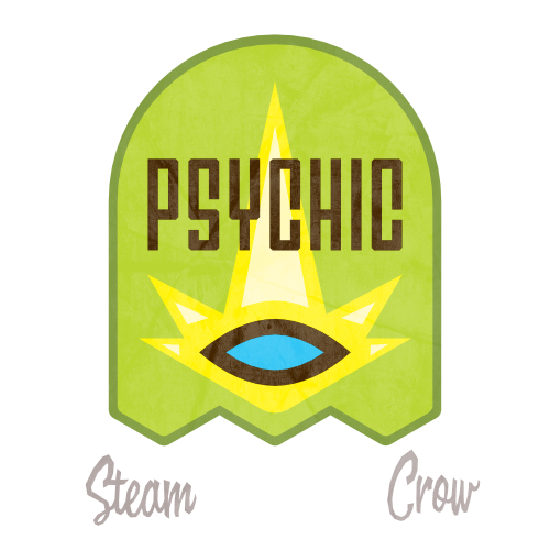 Psychic Rangers Core Badge