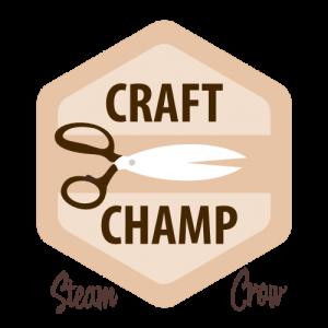 Craft Champ Badge