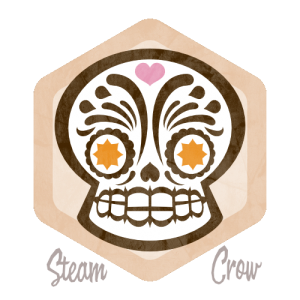 Day of the Dead Badge