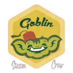 Goblin Boy Badge