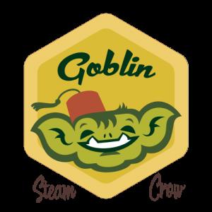 Goblin Boy Badge