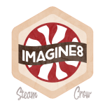 Imagine8 Badge