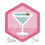 Martini Badge