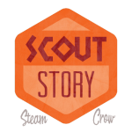 Scout Story Badge