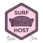 Surf Host Badge
