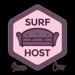 Surf Host Badge