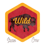 Wild Bison Badge