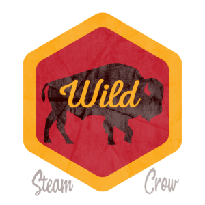 Wild Bison Badge
