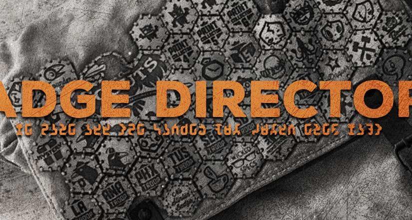 badge directory header
