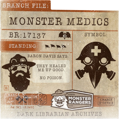 Monster Medic Card