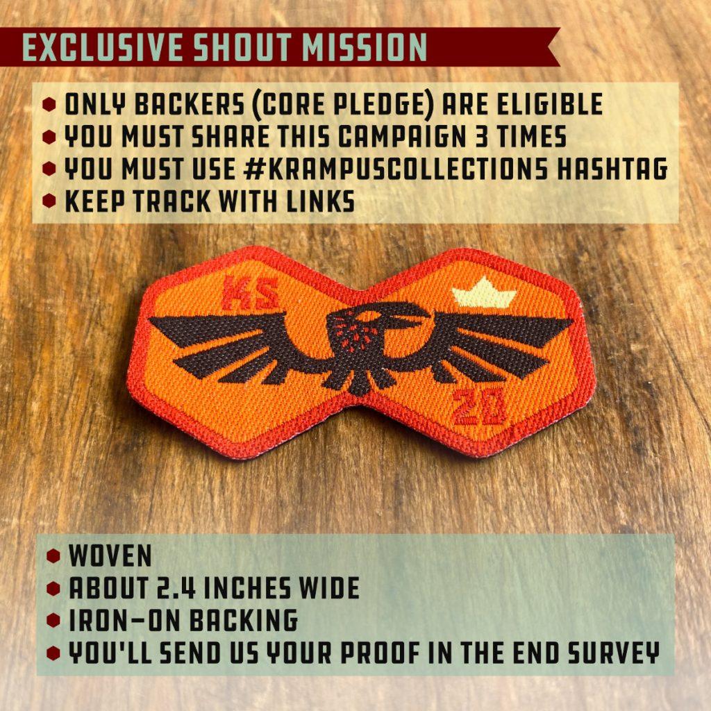 SHOUT Double-Crow Mission Badge
