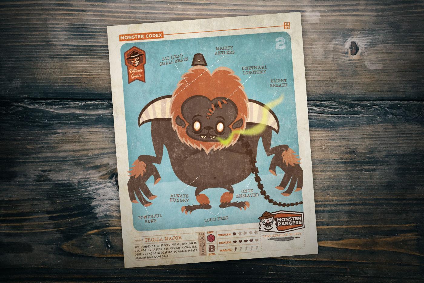 Monster Codex Trolla