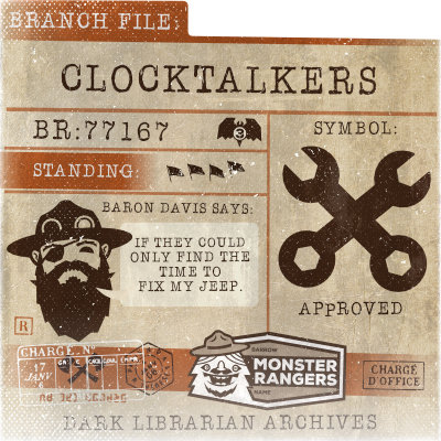 Clocktalkers Card