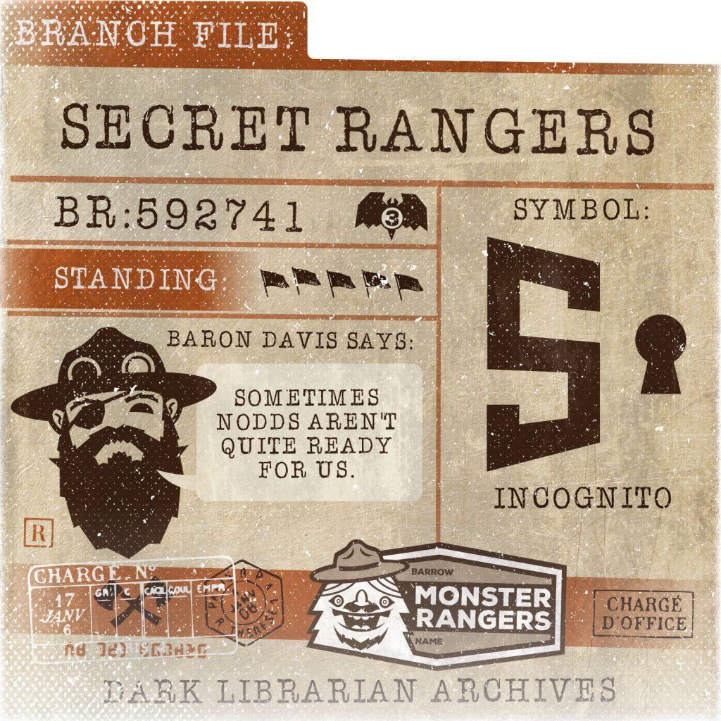 Secret Rangers Card