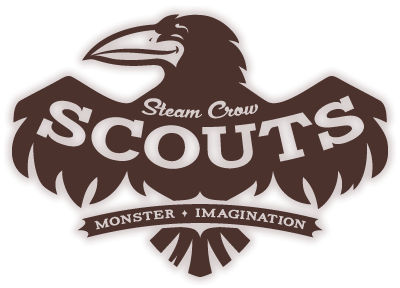 Steam Crow Scouts Logo