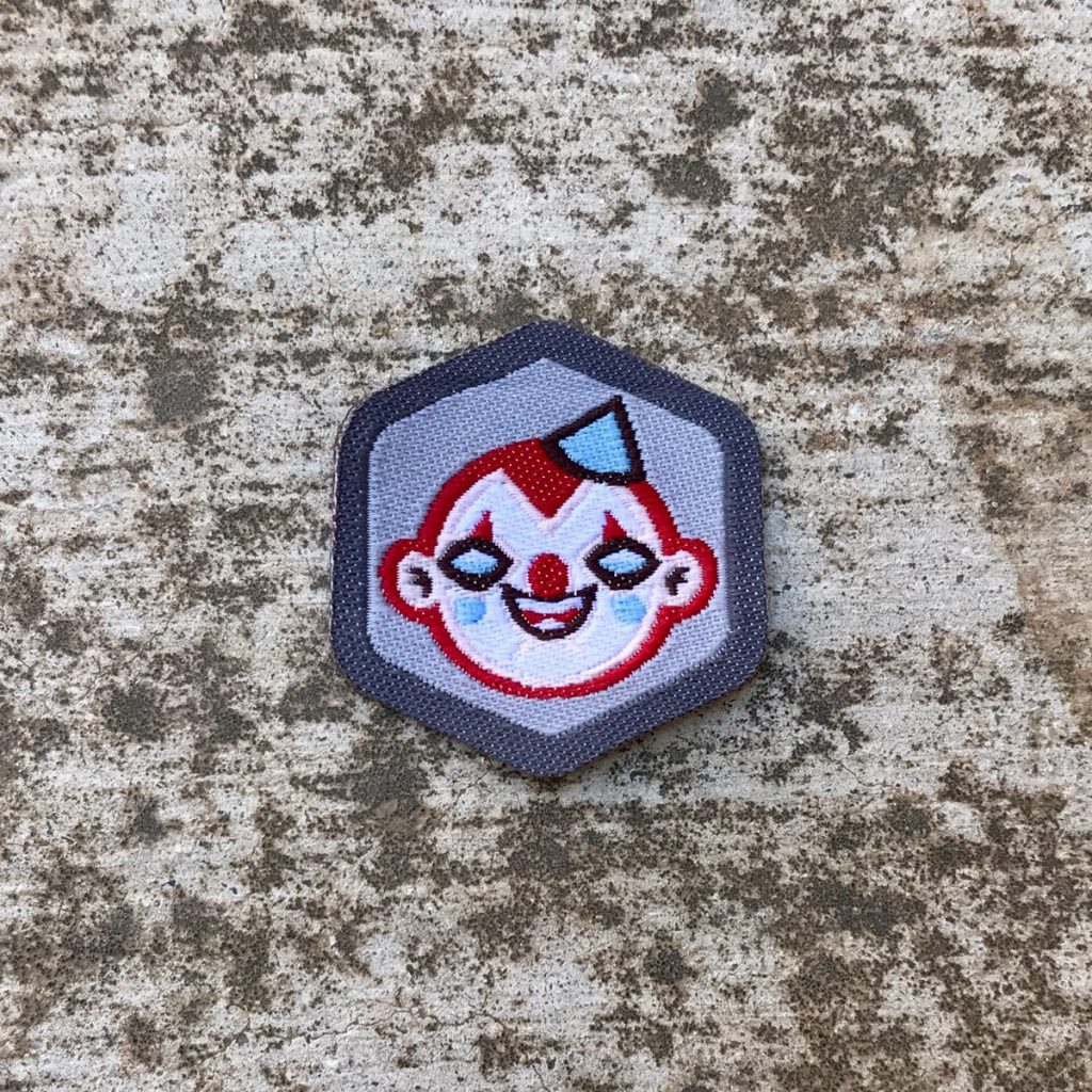 Clownie Badge