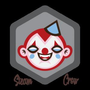 Clownie Spirit Badge