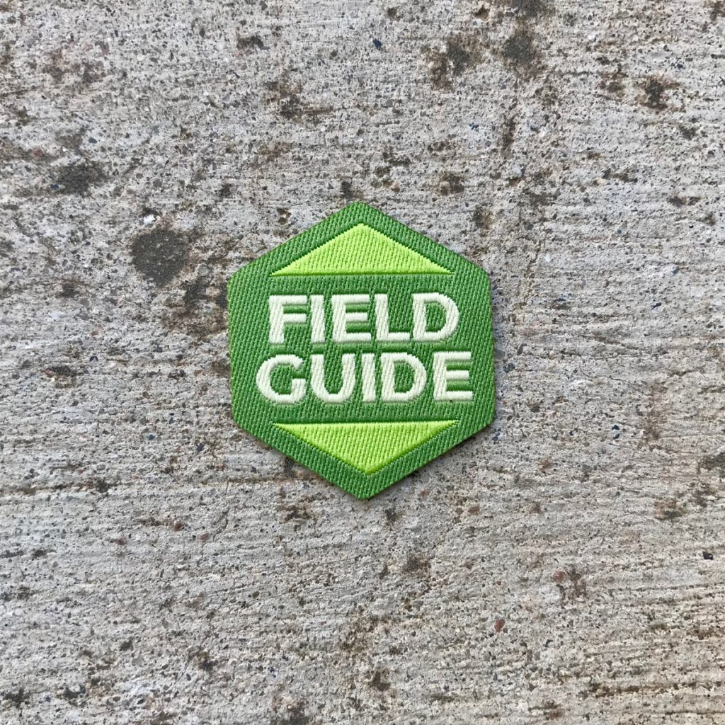 Field Guide badge photo