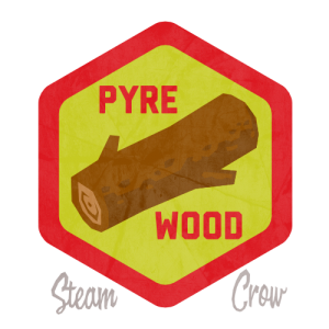 Pyre Wood Badge