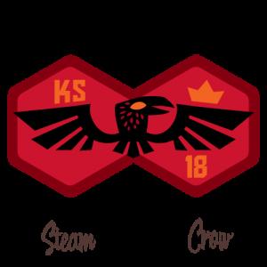 Red Doublecrow Kickstarter badge