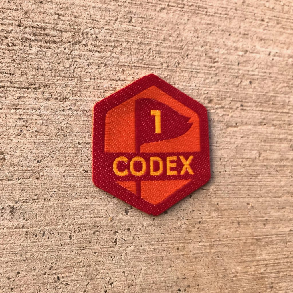 Badge Codex 1