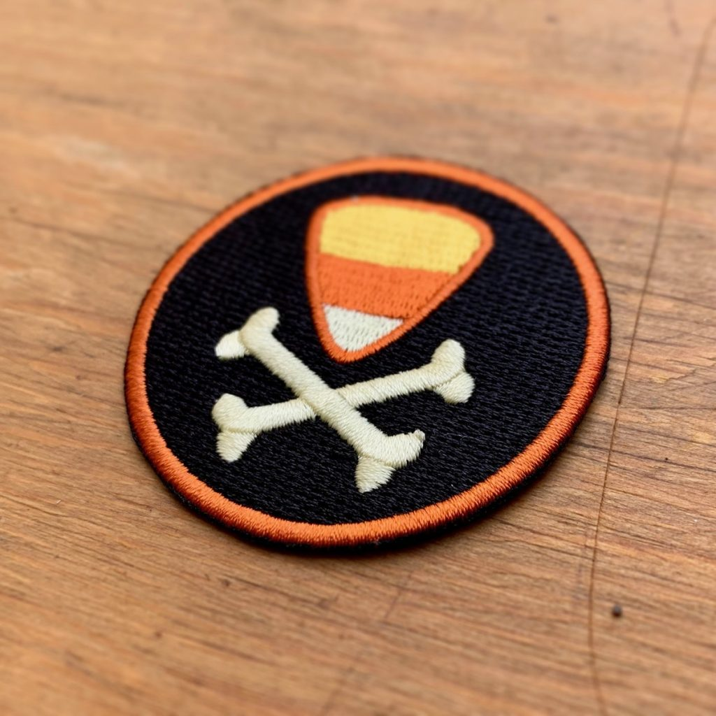 Candy Corn of Merit Badge – MONSTER RANGERS
