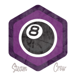 8 Ball Spirit Badge