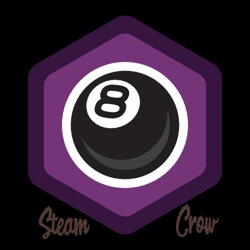 8 Ball Spirit Badge