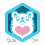 Bear Ghost Badge