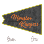 Monster Rangers Flag Patch