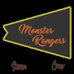 Monster Rangers Flag Patch
