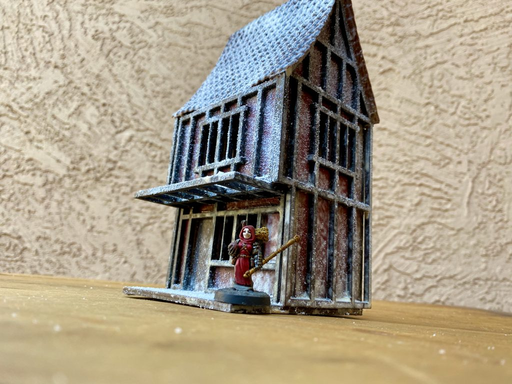 Scratch Built Pub - the Dark Unicorn Pub