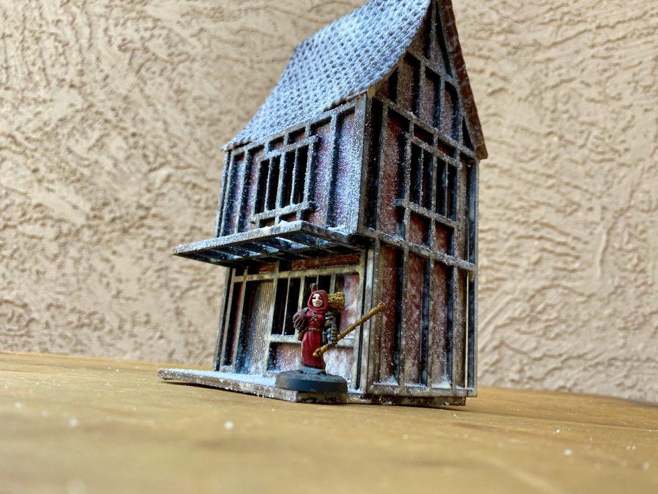 Scratch Built Pub - the Dark Unicorn Pub