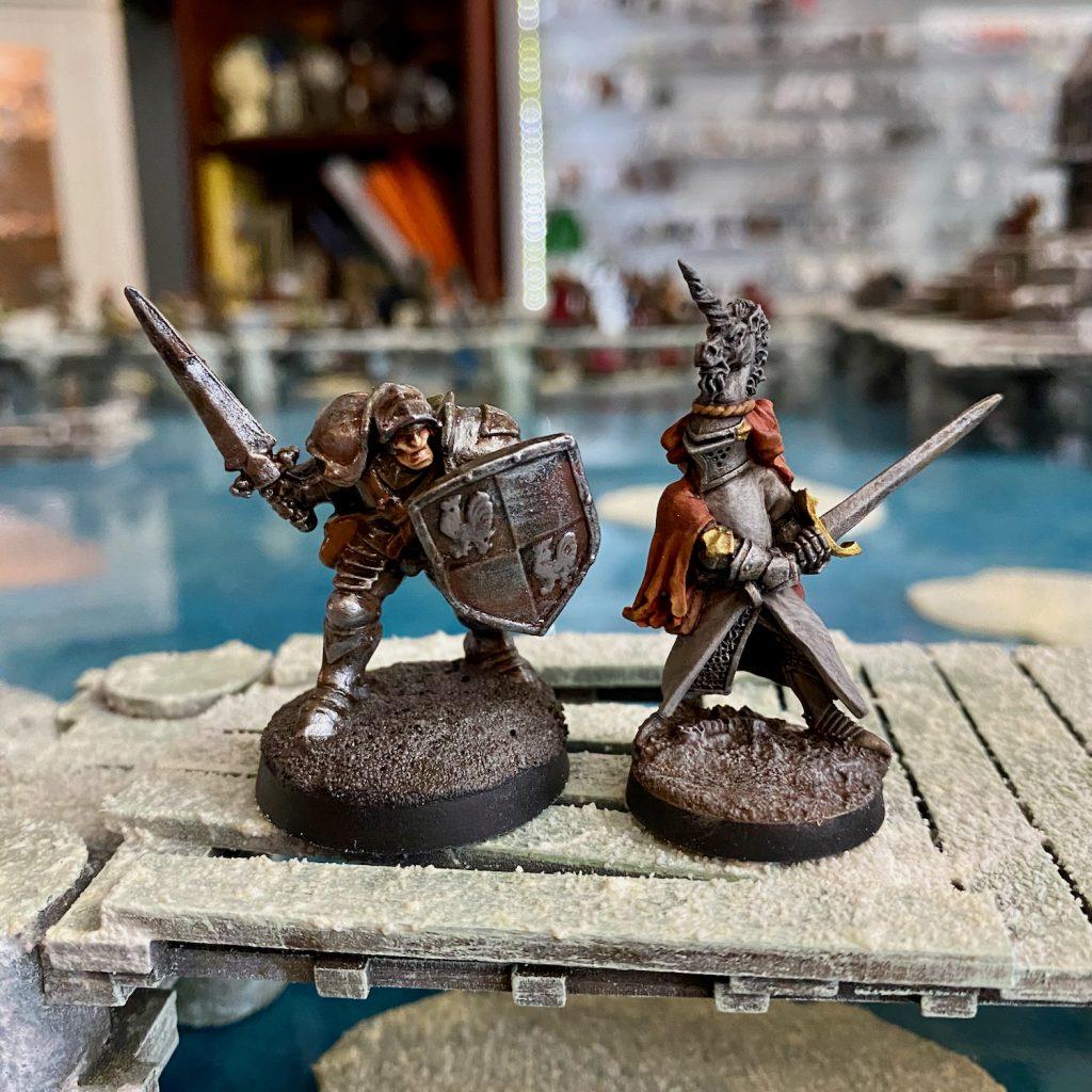 Knight miniatures photo