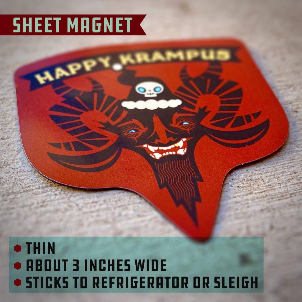 Krampus Magnet